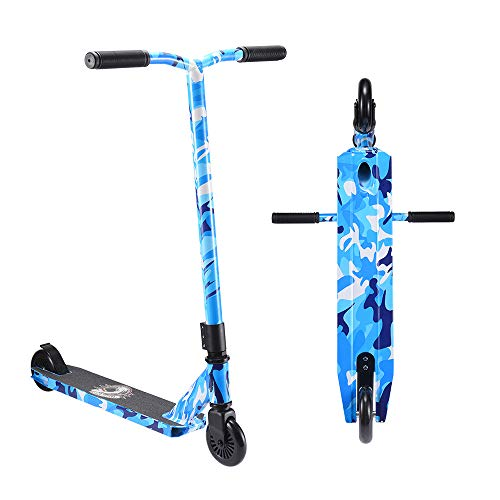 SANVIEW Pro Stunt Scooters Freestyle for Kids Boys Girls Teens Navy