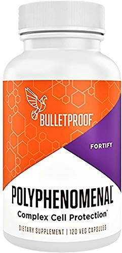 Bulletproof Polyphenomenal 2.0, Antioxidants from Polyphenols Defends Against Free-Radicals and Support Healthy Aging, 120 Capsules