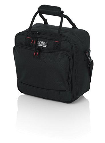 Gator Cases Padded Nylon Mixer/Gear Carry Bag with Removable Strap; 12' x 12' x 5.5' (G-MIXERBAG-1212)