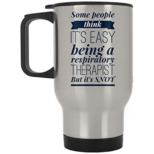 Respiratory Therapist Travel Mug Funny Coffee Cup Gift Idea For Respiratory Therapy Student 15 0z