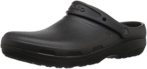 Crocs Specialist II Clog, Black, 9 US Women / 7 US Men