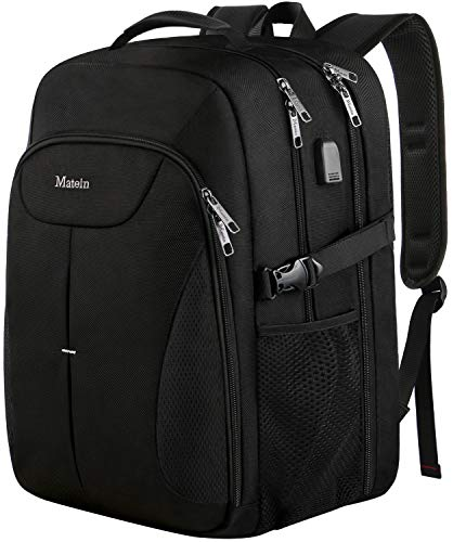 17 Inch Large Backpack,Water Resistant Durable Big College Student Bookbag, Laptop Backpack with USB Port TSA Travel Computer Bag High School Daypack for Boys Girls