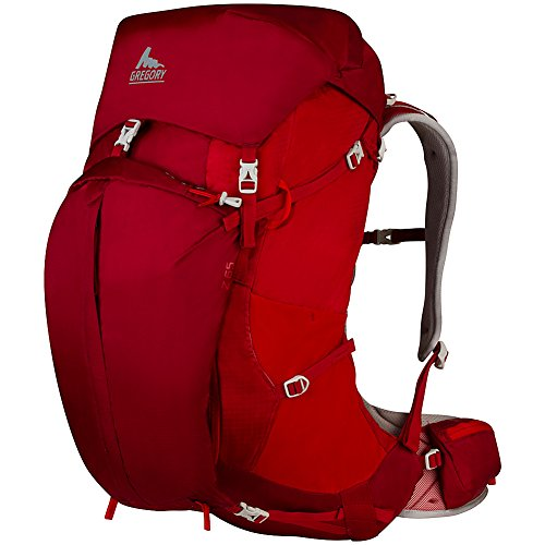 Gregory Mountain Products Z 65 Backpack, Spark Red, Medium