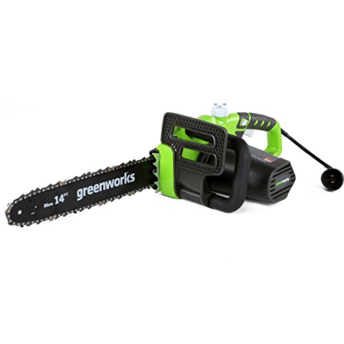 Greenworks 10.5 Amp 14-Inch Electric Chainsaw, 20222