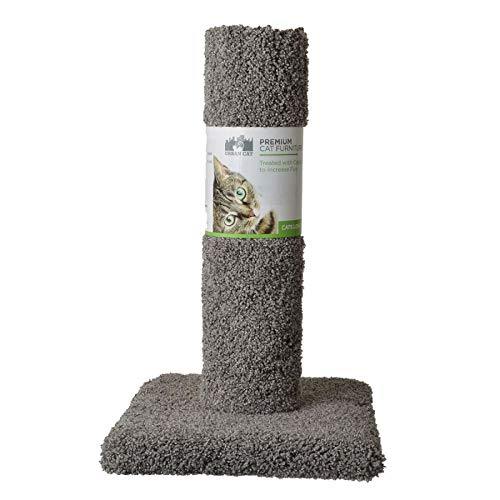 North American Pet Urban Cat Cat Carpet Scratching Post 20' High (Assorted Colors)