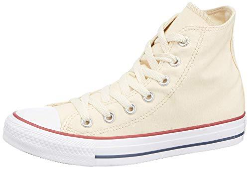 Converse Unisex Chuck Taylor Classic Hi White Sneaker - 3.5 Men - 5.5 Women