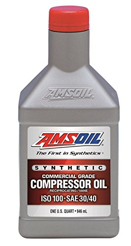 1 Quart Amsoil Synthetic Commercial Grade Air Compressor Oil ISO-100