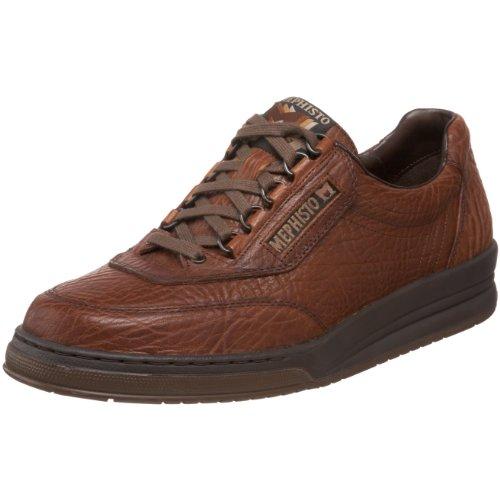 Mephisto Men's Match Oxfords Shoes, 10 D(M) US, Tan Grain