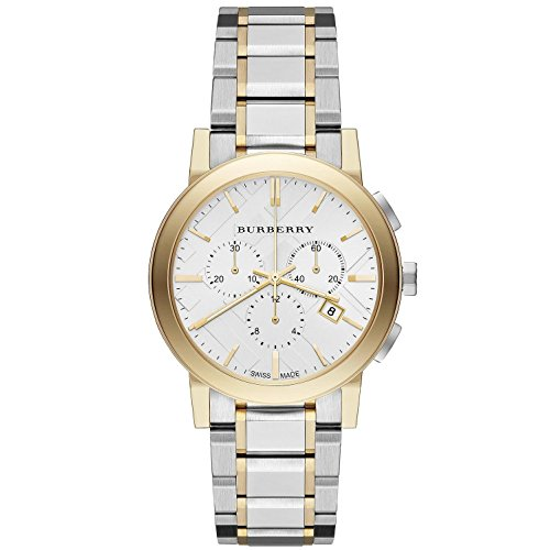 Burberry The City Two-Tone Chronograph Unisex Watch BU9751