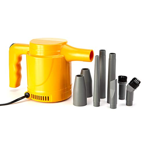 Multi-Use Electric Computer Duster Dryer Air Pump Blower, High Pressure Air Duster, Computer Cleaner Blower, Keyboard Cleaner, Electronic Devices and Laptop Cleaner