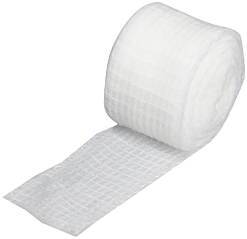 Rolyan - 55422 Economy Finger & Toe Bandage, 12 Rolls, 40% Cotton & 60% Polymer Yarn, Comfortable, Soft Compression Wraps for Fingers & Toes, Provides Protection & Reduces Swelling, Edema, Lymphedema