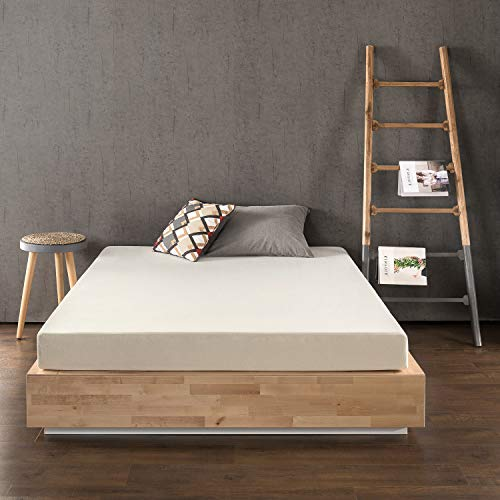 Best Price Mattress 6 Inch Memory Foam Mattress, Calming Green Tea Infusion, Pressure Relieving, Bed-in-a-Box, CertiPUR-US Certified, Queen