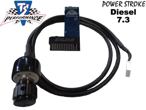 7.3L Ford powerstroke diesel 1994-2003 TS Performance 6 Position Chip WITH KNOB 140+ HP
