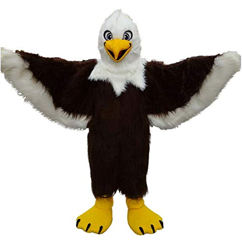 Eagle Mascot Costume Cartoon Fancy Party Cosplay Dress Performance Suit Adult (One Size
