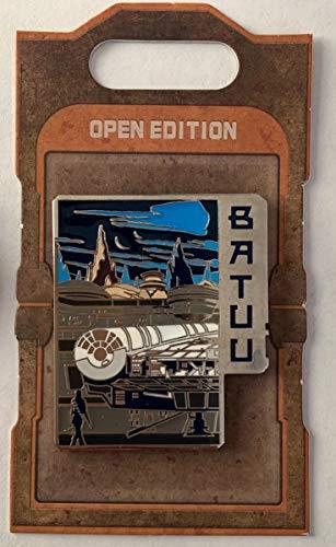 Star Wars Pin 135250 Star Wars: Galaxy's Edge - Black Spire Outpost - Batuu Disney Pin