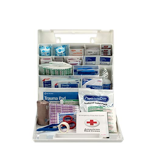 First Aid Only 195 Piece First Aid Kit, OSHA Compliant (225-AN)