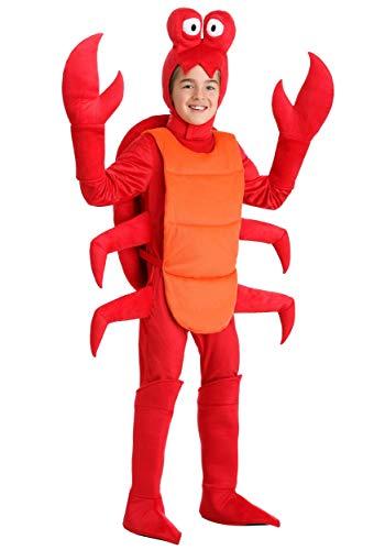 Kid's Crab Costume Small
