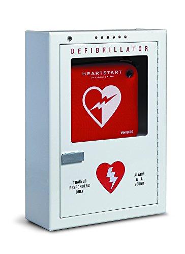Philips HeartStart AED Defibrillator Premium Wall Cabinet, 16' W x 22.5' H x 6' D, Beige, Model:PFE7024D