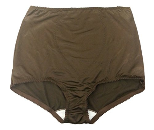 Bali Tummy Panel Light Control Brief Style #8700 (3X-Large, Brown)