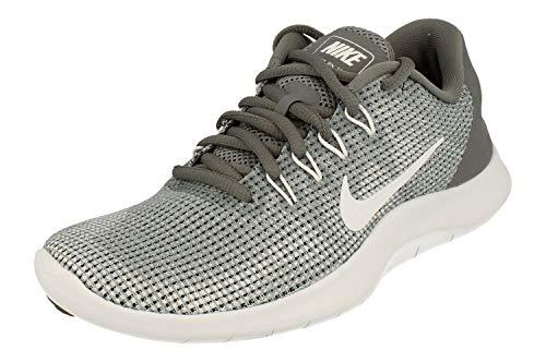 Nike Womens Flex 2018 RN Running Trainers AA7408 Sneakers Shoes (UK 2.5 US 5 EU 35.5, Cool Grey White 010)