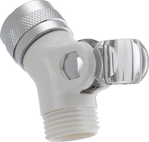 Delta Faucet U4002-WH-PK Pin Mount Swivel Connector for Handshower, White