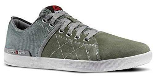 Reebok Women's CrossFit Lite Lo TR Fitness Shoes Silvery Green/Flat Grey/Porcelain (10.5)