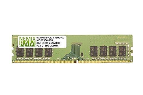 8GB (1x8GB) DDR4-2666MHz PC4-21300 Non-ECC UDIMM 1Rx8 1.2V Unbuffered Memory for Desktop PC