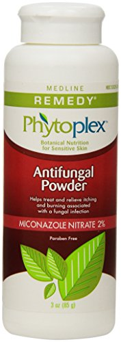 Medline Remedy Antifungal Powder, White