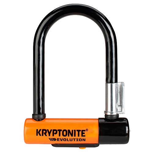 Kryptonite Evolution Mini-5 13mm U-Lock Bicycle Lock with FlexFrame-U Bracket