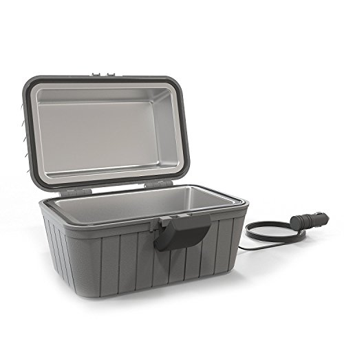 Gideon Heated Electric Lunch Box 12-Volt Portable Stove For Car, Truck, Camping, Etc. - Enjoy Hot Delicious Meals