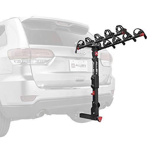 Allen Sports Premier Locking Quick Release 5-Bike Carrier for 2 in. Hitch, Model QR555