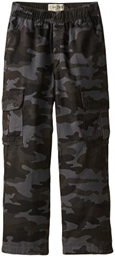The Children's Place Boys' Uniform Pull On Chino Cargo Pants, Nightcamo, 10