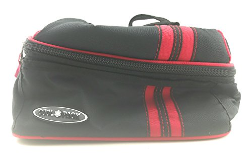 Shalam Imports Zippered Cool Pack Lunch Tote (Red)