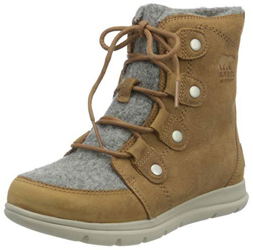 Sorel - Women's Explorer Joan Waterproof Insulated Winter Boot (9, Felt-camel Brown)