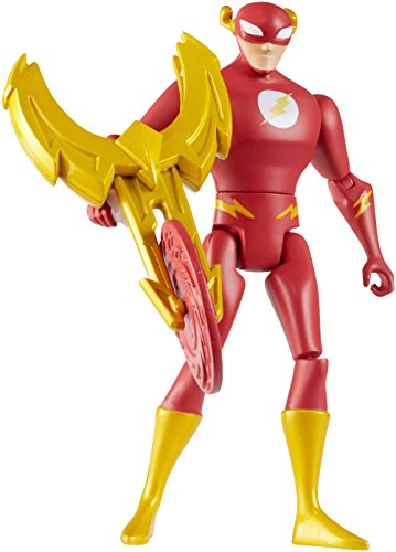 Mattel DC Justice League Action The Flash Figure, 4.5'