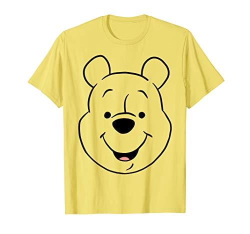 Disney Winnie The Pooh Pooh Bear Large Face T-Shirt