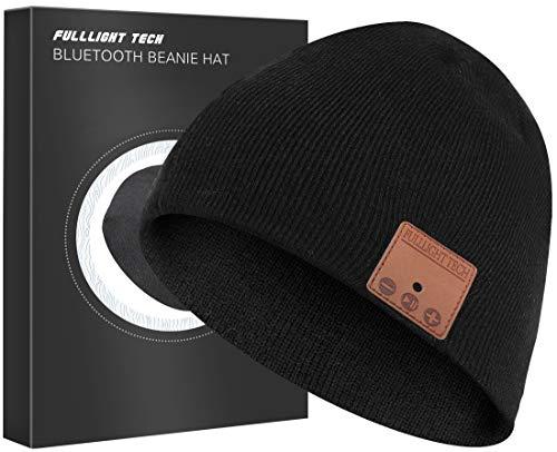 Bluetooth Beanie Hat Headphones Unique Christmas Tech Gifts Black