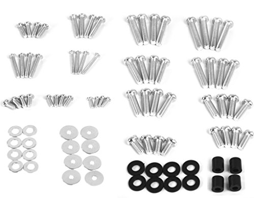 VIVO M4 M5 M6 M8 Universal TV and Monitor Mounting VESA Hardware Kit Set, Includes Screws, Washers, Spacers, Assortment Pack, Fits Most Screens up to 80 inches (Mount-TVWARE)
