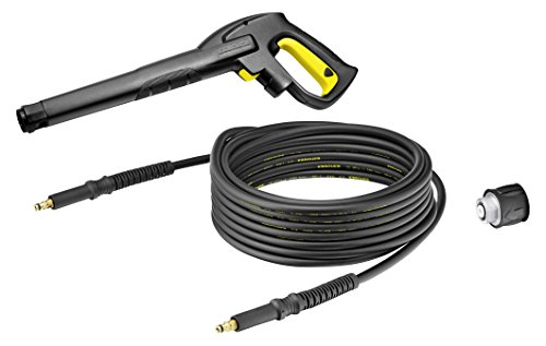 Karcher 26439100 Trigger Gun and 25Ft Replacement Hose, Black