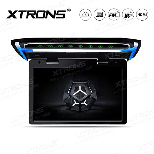 XTRONS 10.2 Inch Digital TFT Screen 1080P Video Car Overhead Player Roof Mounted Monitor HDMI Port (No DVD)