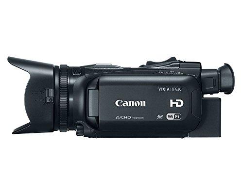 Canon VIXIA HF G30 2.91 Megapixel HD CMOS Pro Image Sensor and 20x HD Video Lens HD Camcorder (Renewed)
