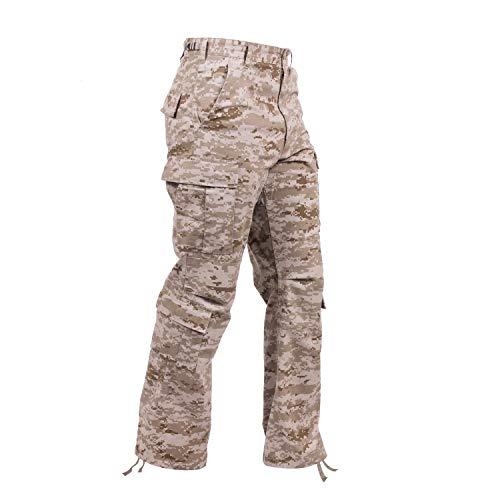 Rothco Vintage Camo Paratrooper Fatigue Pants, Desert Digital Camo, M