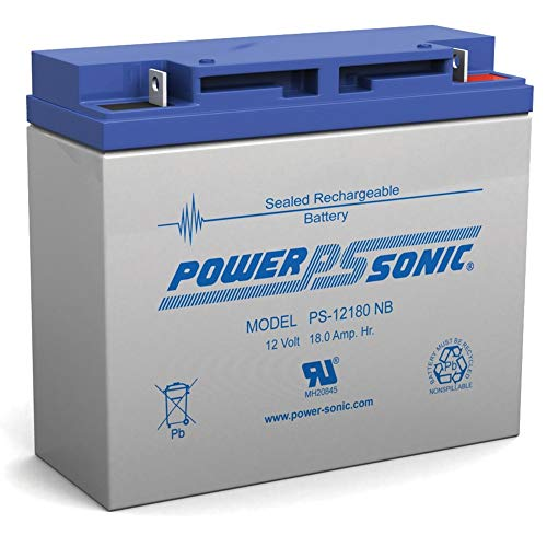 Power Sonic 12V 18Ah Wheelchair Scooter Battery Replaces Toyo 6FM18