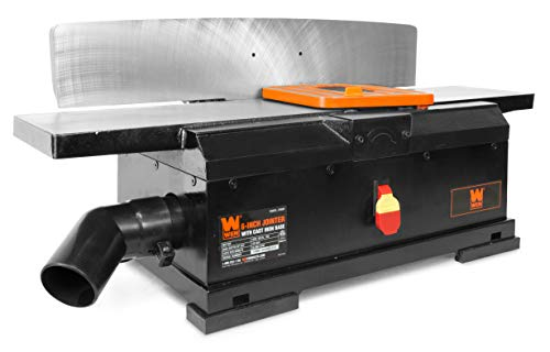 WEN JT6561 10-Amp 6-Inch Corded Benchtop Jointer with Cast Iron Base