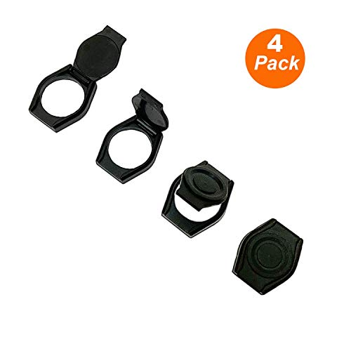 Webcam Lens Cover, 4 Pack Ultra-Thin Camera Cover Slide Webcam Lens Cap Hood Cover to Protect Privacy and Security for Logitech HD Pro Webcam C615 &C920 & C930e & C922X