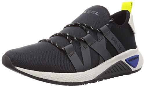Diesel Men's Fashion Sneaker, Black 10.5 medium US
