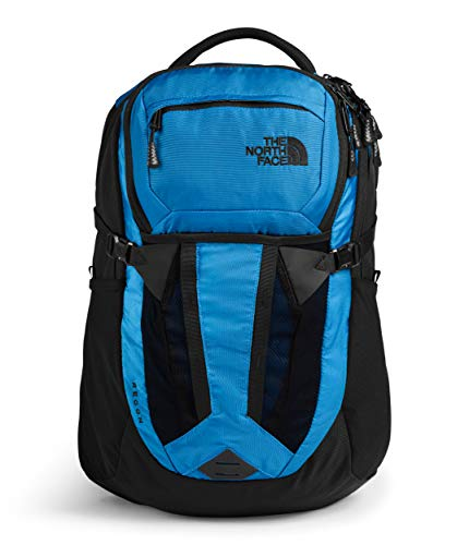 The North Face Recon Laptop Backpack, Clear Lake Blue/TNF Black, One Size