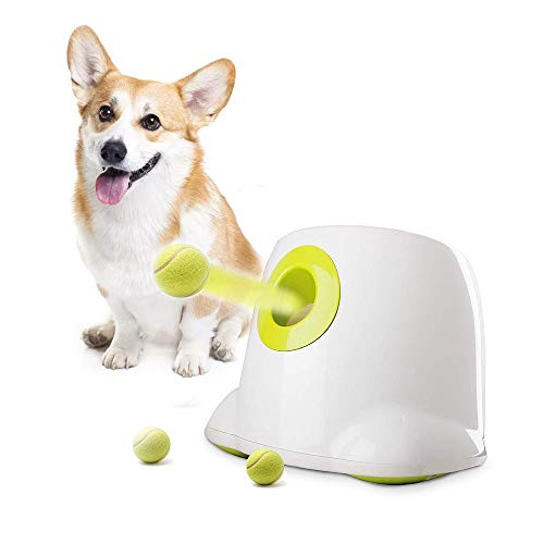 AFP Automatic Ball Launcher Dog Ball Thrower Machine Hyper Fetch Tennis Ball Dog Ball Launcher(Maxi) (Maxi-New)