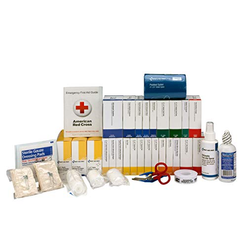 First Aid Only 90619 ANSI 2015 Compliant 2 Shelf Class B+, First Aid Kit Refill, without Medications