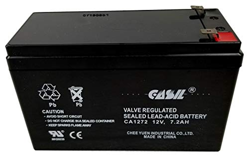 Verizon FiOS PX12072-HG Replacment Battery by Casil 12V 7.2AH F2